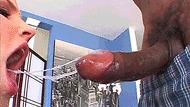 BBC mouth fucking - porn GIFs