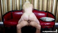 BBW blonde - porn GIFs