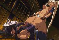 Best lesbian anime - porn GIFs