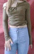 Bulge in jeans - porn GIFs