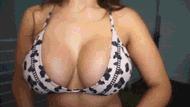 Curvy big boobs - porn GIFs