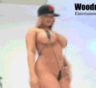 Curvy nymph - porn GIFs