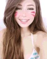 Girls ahegao - porn GIFs