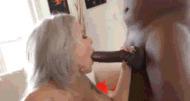 Mandingo blowjob - porn GIFs