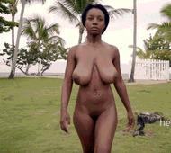 Sexy black girl - porn GIFs