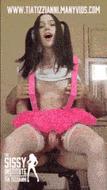 Sissy shemale - porn GIFs