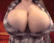 Super huge boobs - porn GIFs